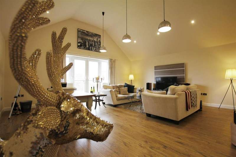 2 Bedrooms Penthouse Flat for sale in Penthouse, 23 Belmont Park, Holymoorside, Chesterfield, S42