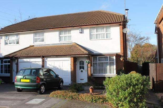 3 Bedrooms Semi Detached House for sale in Whitehaven, Luton, LU3