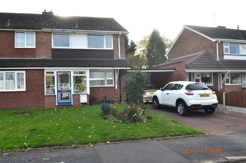 3 Bedrooms Semi Detached House for sale in Braemer Close, Willenhall