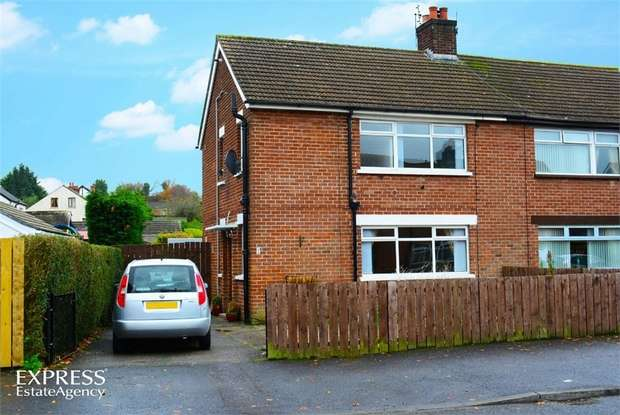 3 Bedrooms Semi Detached House for sale in Moatview Park, Dundonald, Belfast, County Down