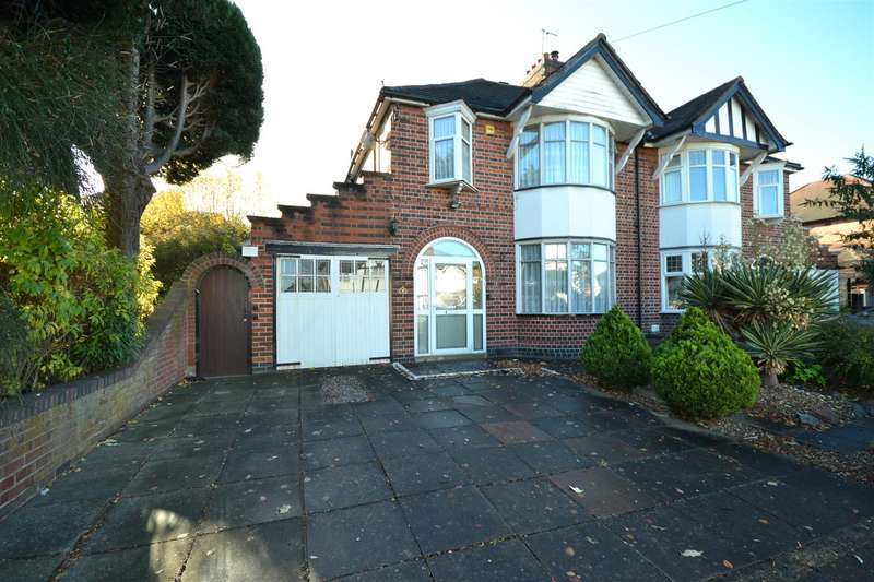 3 Bedrooms Semi Detached House for sale in Northcote Road, Leicester