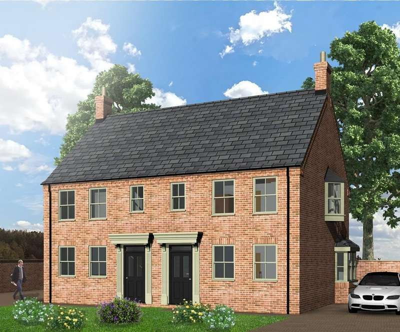 3 Bedrooms Semi Detached House for sale in Spire View, Boston Road, Heckington, Sleaford