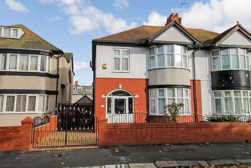 3 Bedrooms Semi Detached House for sale in Butterton Road, Rhyl