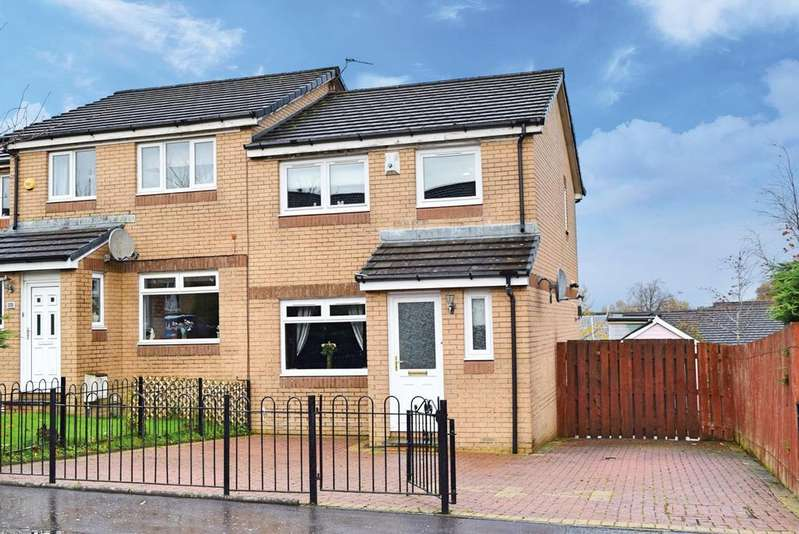 3 Bedrooms Semi Detached House for sale in Ravenscraig Drive, Priesthill, G53 6QB