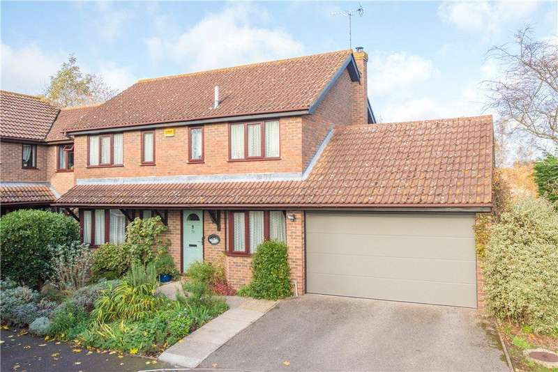 4 Bedrooms Detached House for sale in Oliffe Close, Aylesbury, Buckinghamshire