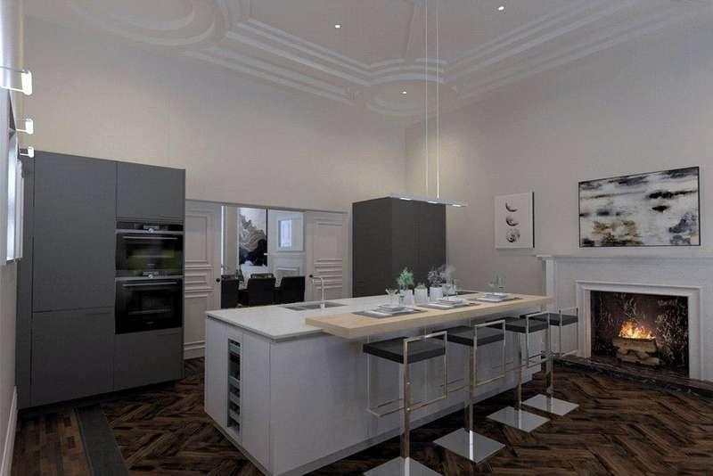 4 Bedrooms Flat for sale in Woodside Terrace, Glasgow, G3