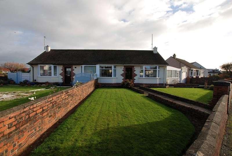2 Bedrooms Semi Detached Bungalow for sale in 3 Underwood Road, PRESTWICK, KA9 2EX