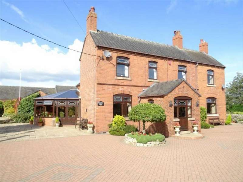5 Bedrooms Detached House for sale in Stoney Lane, Cauldon, Stoke On Trent