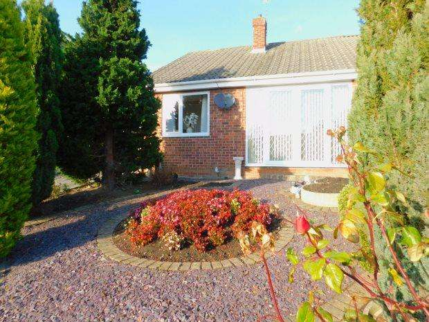 2 Bedrooms Semi Detached Bungalow for sale in EAST DENE WAY, PETERLEE, PETERLEE