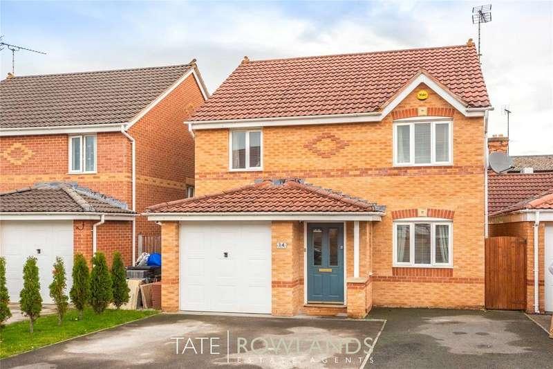 3 Bedrooms Detached House for sale in St James Court, Connahs Quay, Deeside, Flintshire, CH5