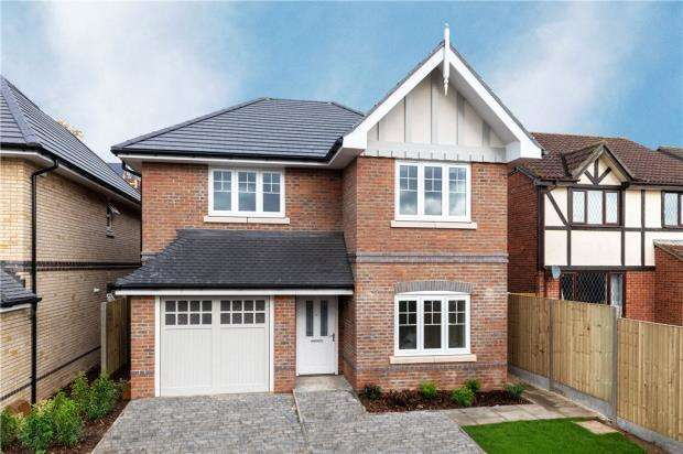4 Bedrooms Detached House for sale in Queens Place, Fairfax Close, Caversham