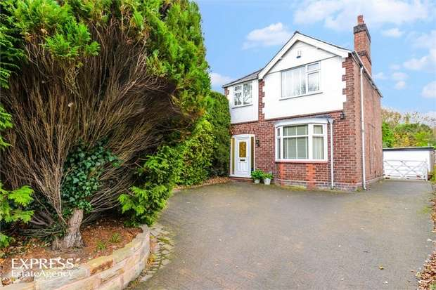 3 Bedrooms Detached House for sale in Beach Road, Hartford, Northwich, Cheshire