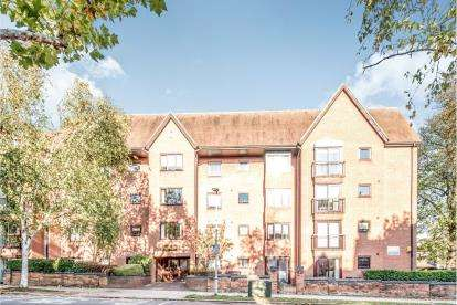 2 Bedrooms Flat for sale in Aspley Court, Warick Avenue, Bedford, Bedfordshire