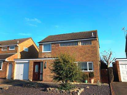 3 Bedrooms Detached House for sale in Torrington Close, Wigston, Leicester, Leicestershire