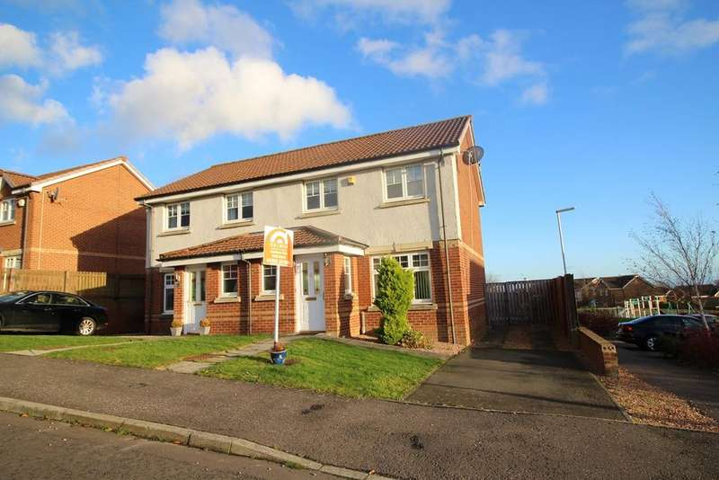 3 Bedrooms Semi Detached House for sale in Fleming Drive, KIRKCALDY, Fife, KY2