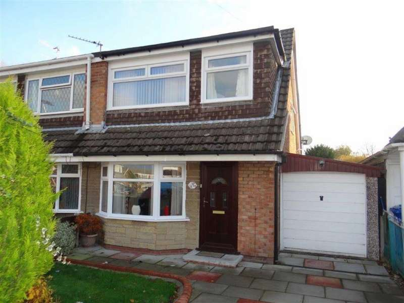 3 Bedrooms Semi Detached House for sale in Telford Crescent, Leigh