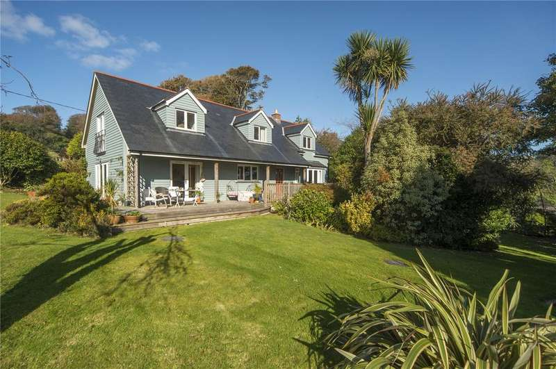 4 Bedrooms Detached House for sale in Penjerrick, Nr Mawnan Smith, Falmouth, Cornwall, TR11