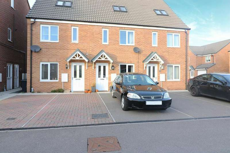 3 Bedrooms Terraced House for sale in Ferrous Way, North Hykeham