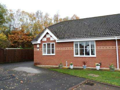 2 Bedrooms Bungalow for sale in Blackley Close, Latchford, Warrington, Cheshire