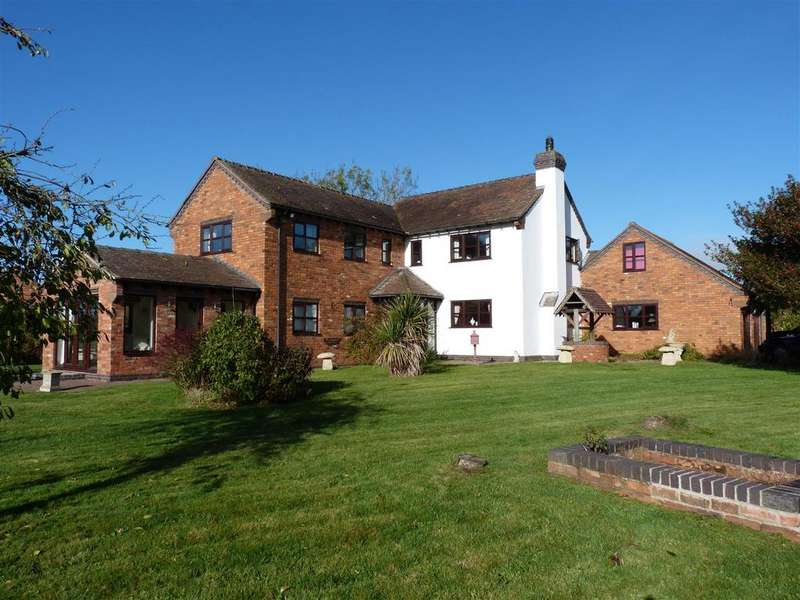 4 Bedrooms Detached House for sale in Mitton, Penkridge, Stafford