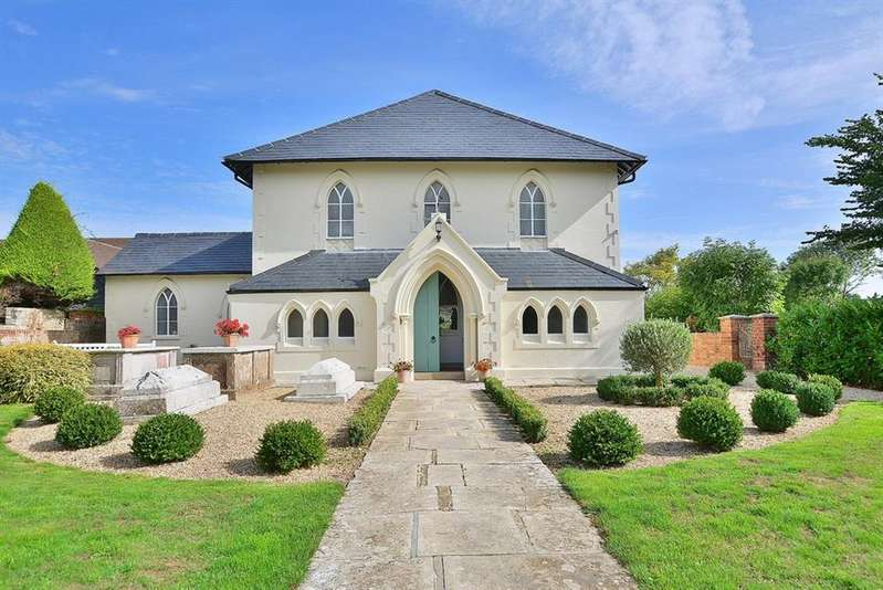 3 Bedrooms Semi Detached House for sale in The Old Chapel, Muscliffe Lane