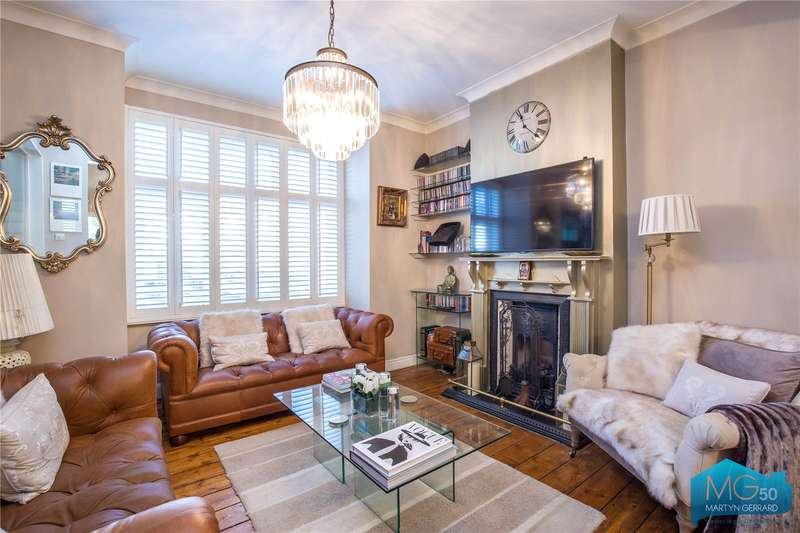 2 Bedrooms End Of Terrace House for sale in Brendon Villas, Highfield Road, London, N21