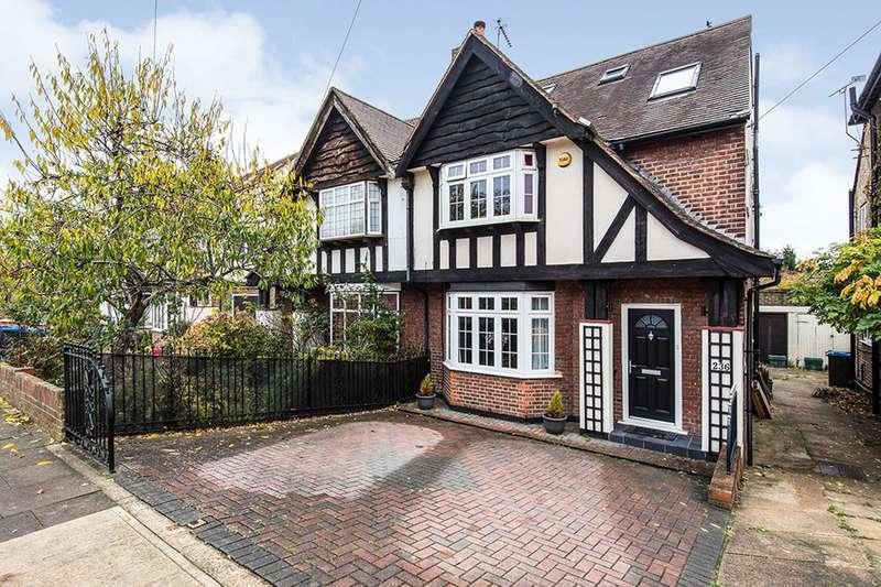 4 Bedrooms Semi Detached House for sale in Raeburn Avenue, Surbiton, KT5