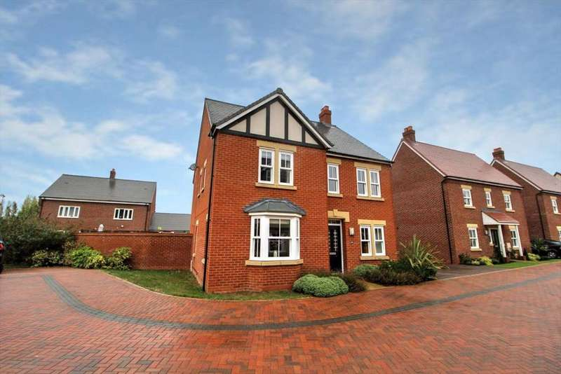 4 Bedrooms Detached House for sale in Clover Way, Kempston, Bedfordshire, MK42