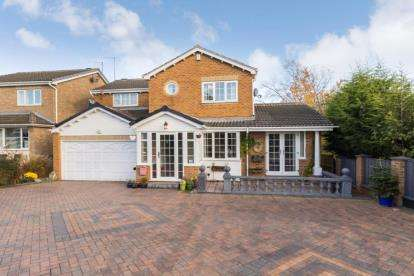 4 Bedrooms Detached House for sale in Stoneacre Rise, Sheffield, South Yorkshire