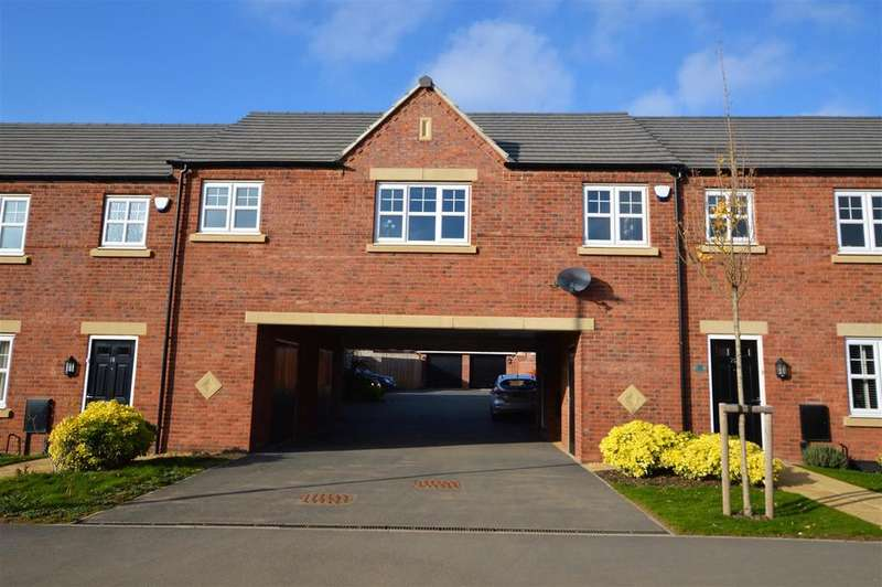 2 Bedrooms Coach House Flat for sale in Carnation road, Loughborough