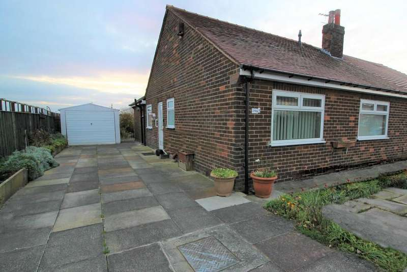 3 Bedrooms Semi Detached Bungalow for sale in Westleigh Lane, Leigh
