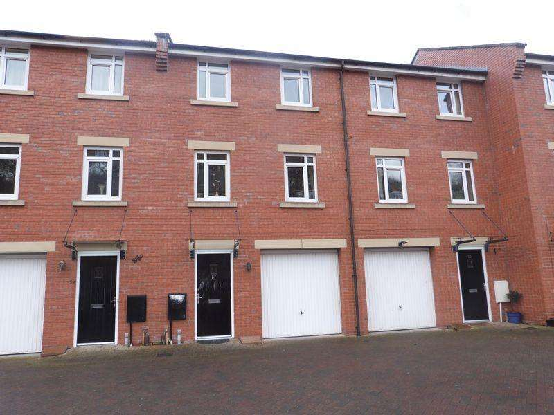 3 Bedrooms Terraced House for sale in Mill Green, Congleton, Cheshire, CW12 1GD
