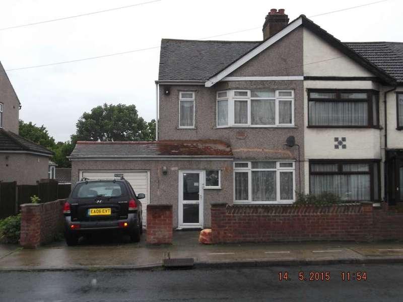 3 Bedrooms Semi Detached House for sale in Waverley Road, Rainham, Essex, RM13 9ND