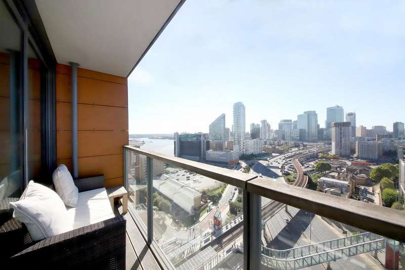 2 Bedrooms Apartment Flat for sale in Elektron Tower, Blackwall Way, London, E14