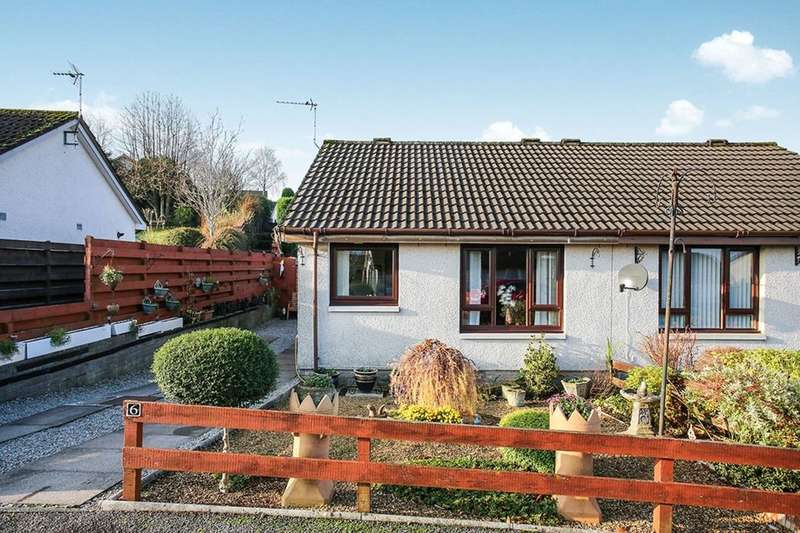 1 Bedroom Semi Detached Bungalow for sale in Calside Gardens, Dumfries, DG1