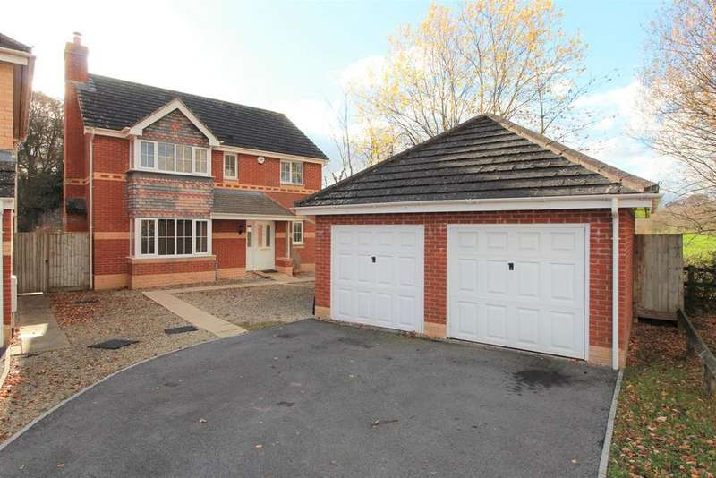 4 Bedrooms Detached House for sale in Ethley Drive, Raglan, Usk, NP15