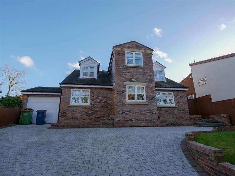 4 Bedrooms Detached House for sale in Glen Path, Ashbrooke, Sunderland