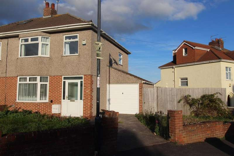 3 Bedrooms Semi Detached House for sale in Whitecross Avenue, Whitchurch, Bristol, BS14 9JD