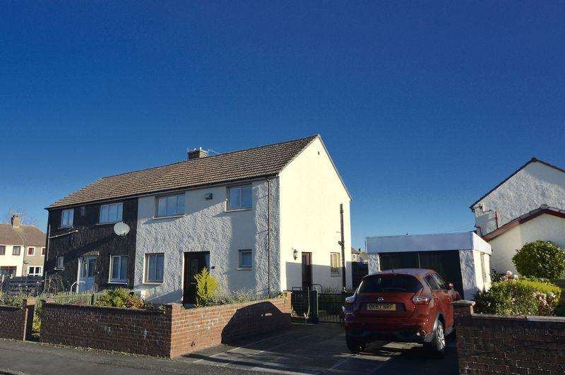3 Bedrooms Semi-detached Villa House for sale in Ellisland Square, Ayr