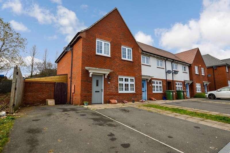 3 Bedrooms End Of Terrace House for sale in Harrier Avenue, Cwm Calon