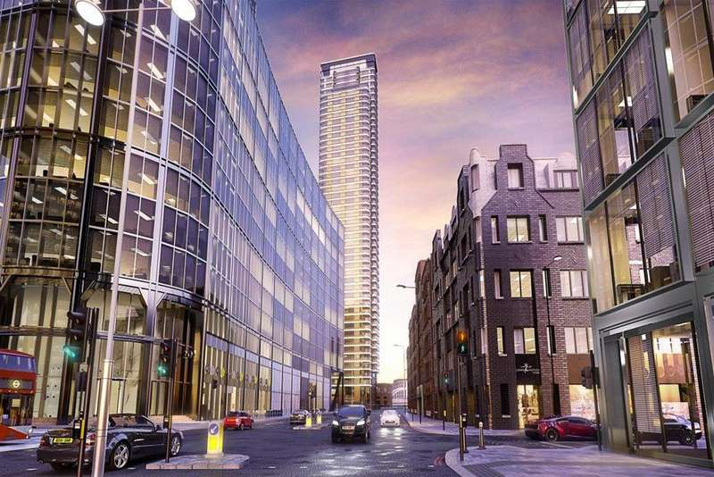3 Bedrooms Penthouse Flat for sale in Principal Tower, London, EC2A