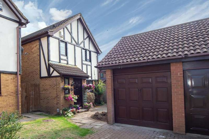 3 Bedrooms Detached House for sale in Peartree Close, Toddington