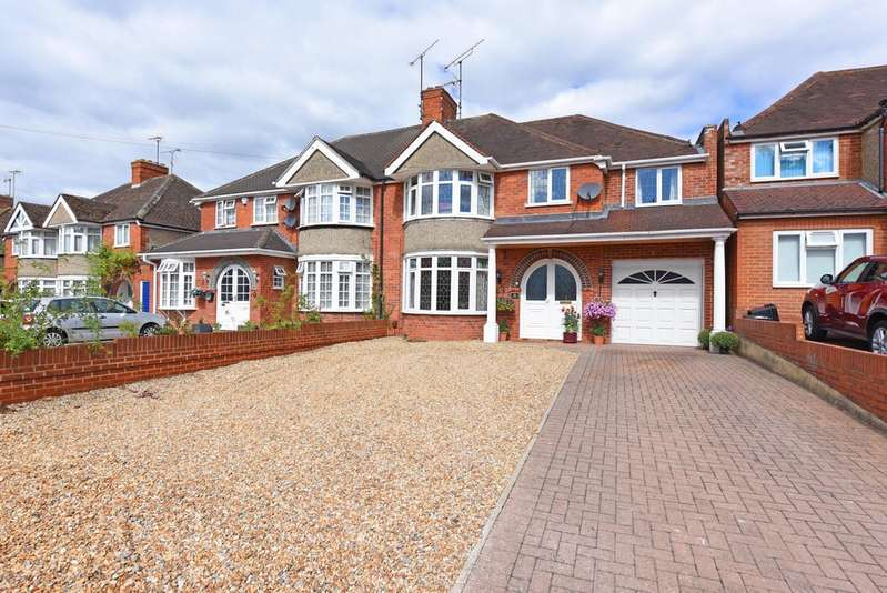 4 Bedrooms Semi Detached House for sale in Culver Lane, Earley, Reading RG6