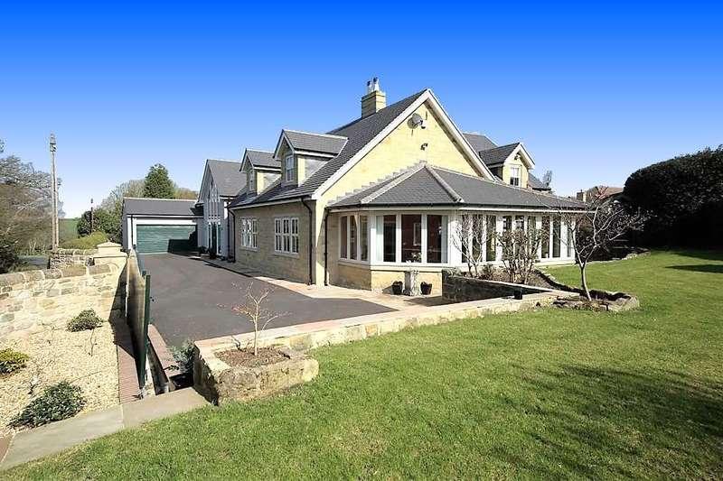 5 Bedrooms Detached House for sale in Wood Green, Medburn, Ponteland