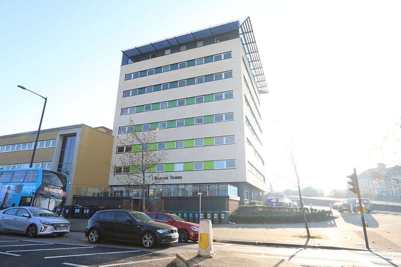 2 Bedrooms Apartment Flat for sale in Beacon Tower, Fishponds Road, Bristol, Somerset, BS16 3HQ