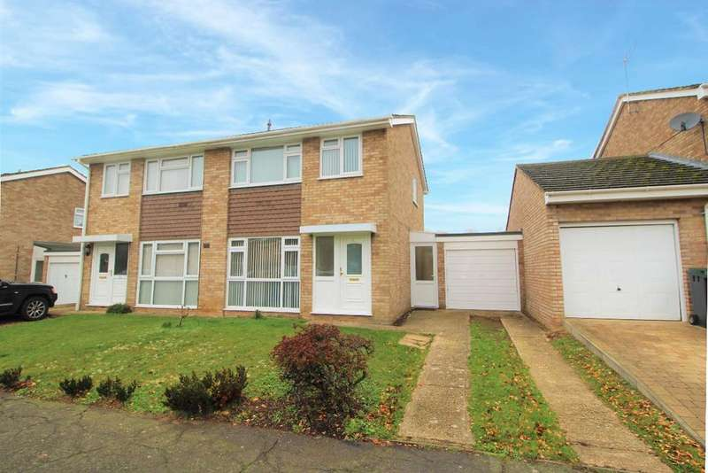 3 Bedrooms Semi Detached House for sale in Manor Farm Way, Sharnbrook MK44