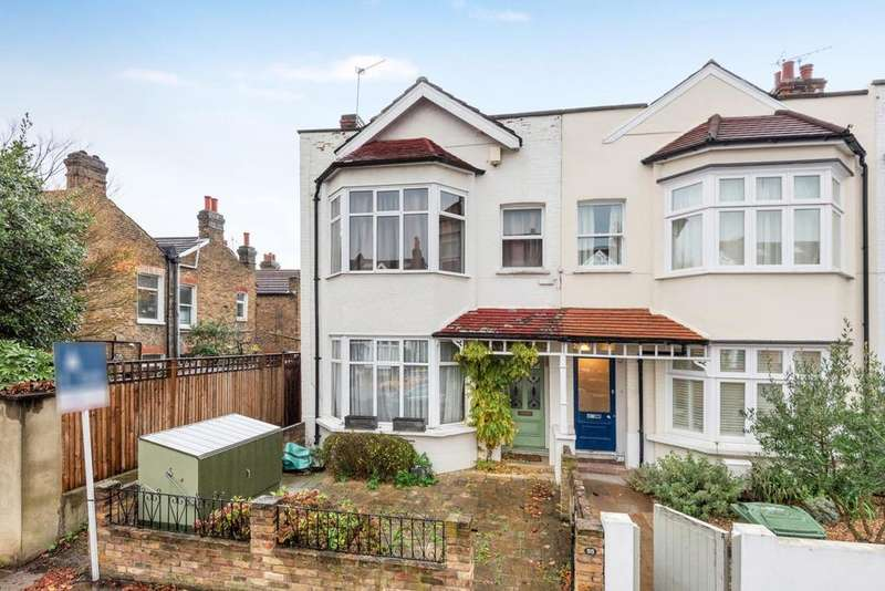 4 Bedrooms End Of Terrace House for sale in Criffel Avenue, Balham