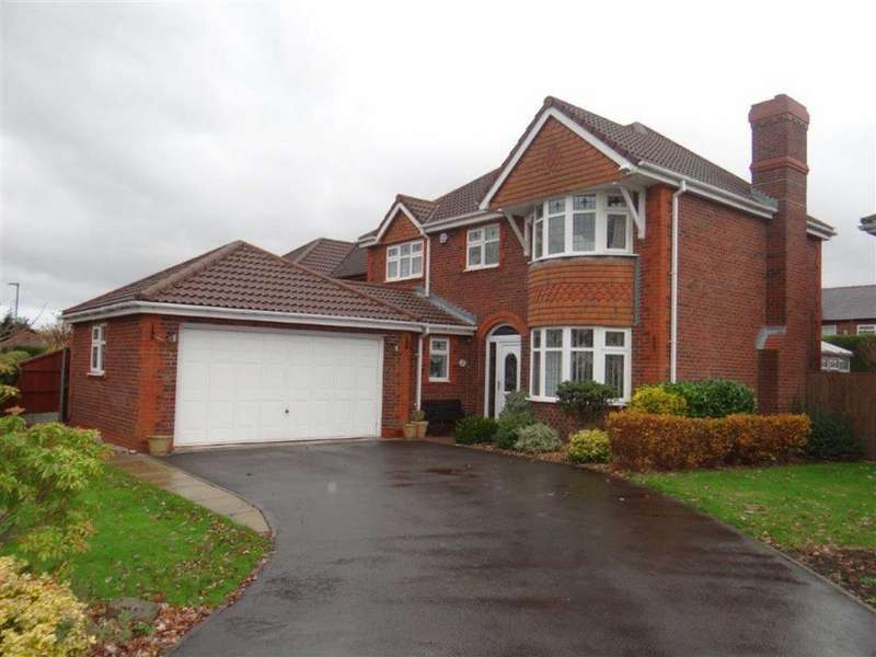 4 Bedrooms Detached House for sale in Sanderling Drive, Leigh, Lancashire