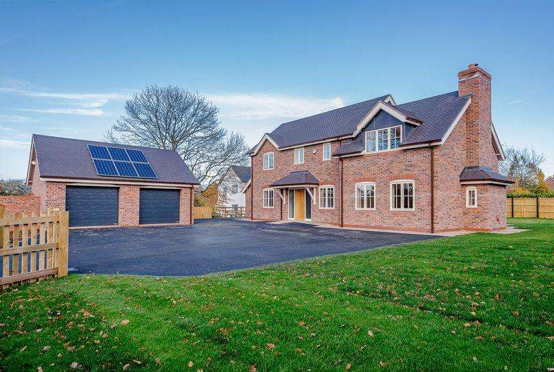 4 Bedrooms Detached House for sale in Cuddington, Nr. Malpas