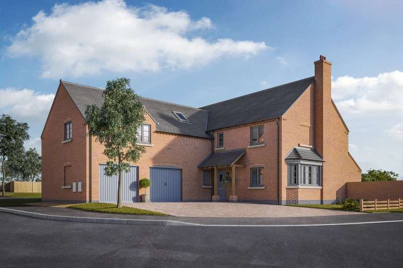 5 Bedrooms Detached House for sale in The Bradbourne Normanton Road, Packington, Ashby-De-La-Zouch, LE65
